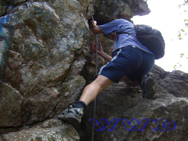 bukit tabur rope climb