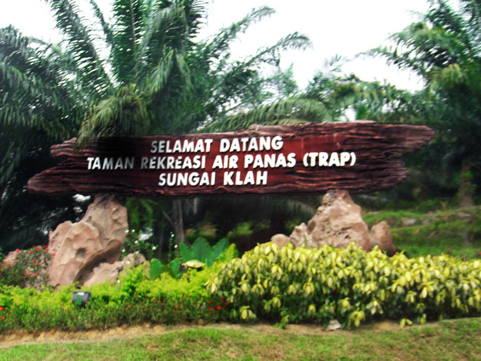 welcome to Sungkai Hot Springs