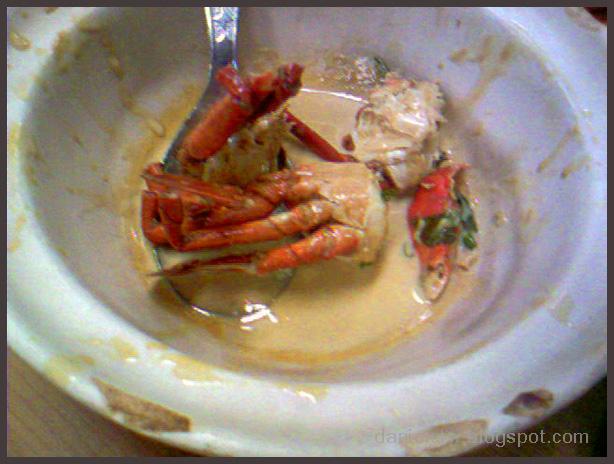Wong Poh Restaurant LeftOver Crab