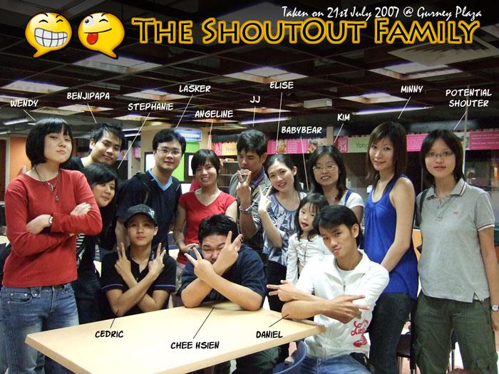 shoutout family 2007