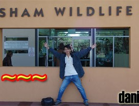 Daniel Chew at Caversham Wildlife Park