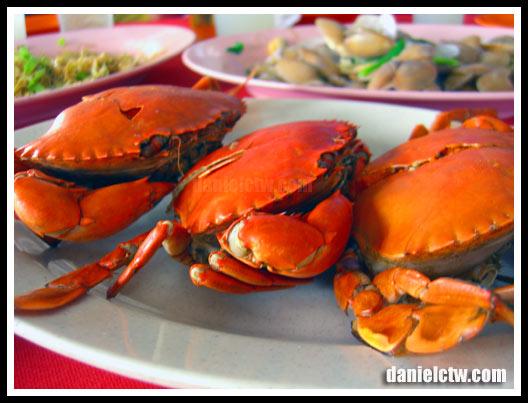 Baked Crab Tambun