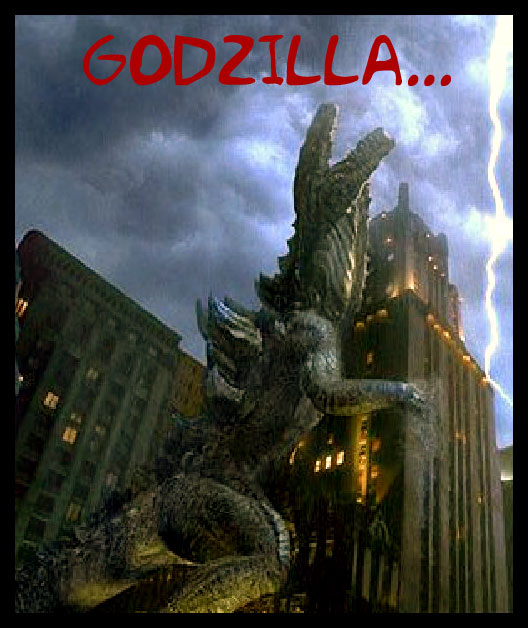 Godzilla Attacks