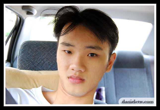 Latest daniel hair cut