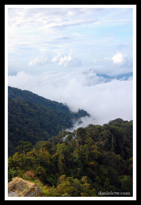 Top View Scenery Genting Highlands