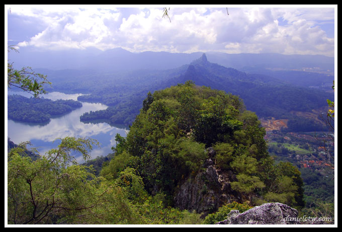 Scenery Above Bukit Tabur
