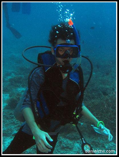 Diving Daniel