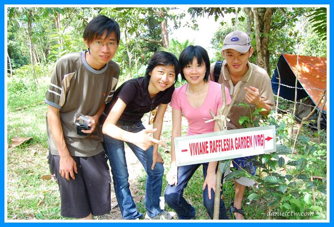 Rafflesia Garden Group Photo