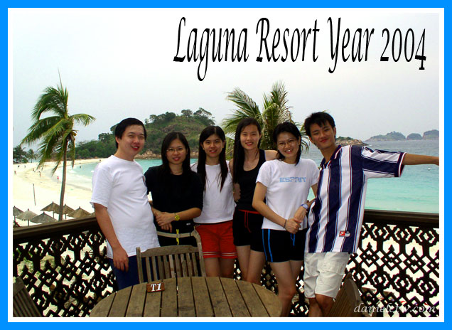 Laguna Redang Resort Pose 2004