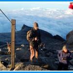 Descending Kinabalu Mountain