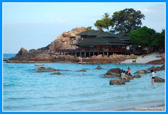 Redang Reef Resort from Laguna Beach