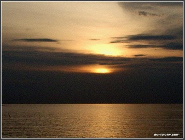 Sun Set At Port Dickson