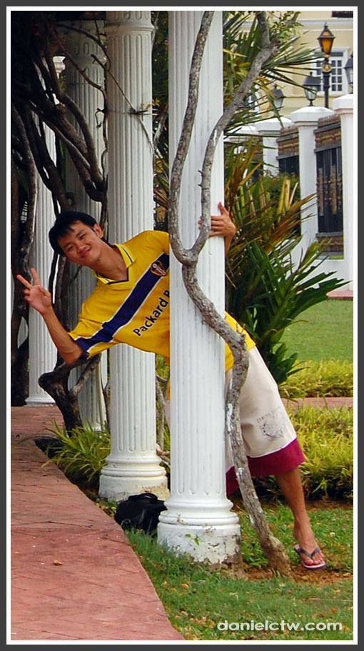 Pole Posing