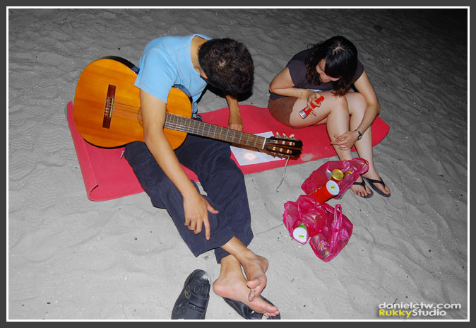 Singing Songs During The Night