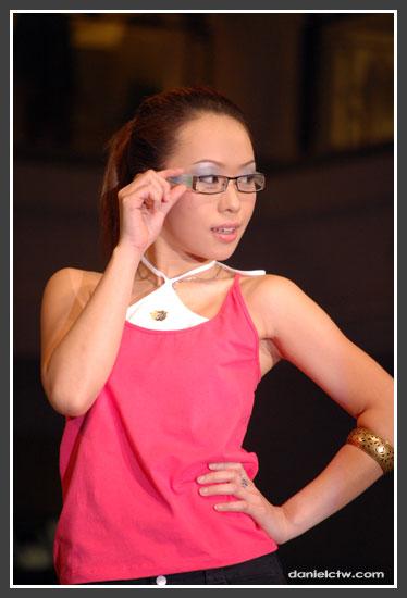 Pink Blouse Model
