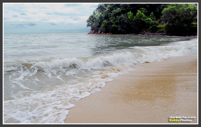 Waves At Port Dickson