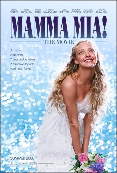 Amanda Seyfried mamma Mia Poster