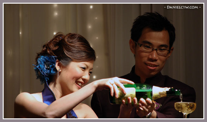 Pouring Champagne Ceremony