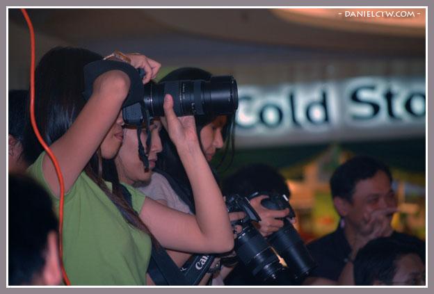 Girls Flashing Their Cameras