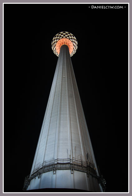 KL Tower View From Bottom