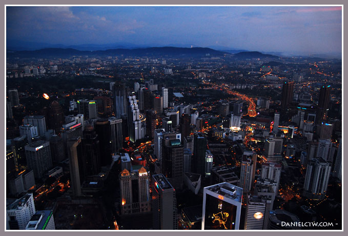 View of KL Panaroma