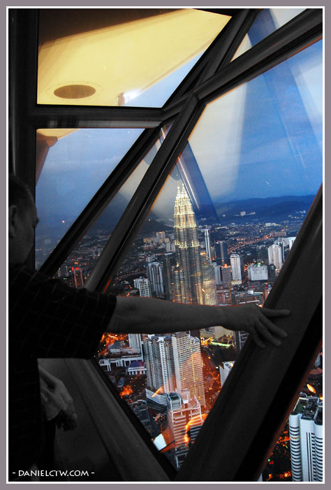 View of Twin Towers At KL Tower