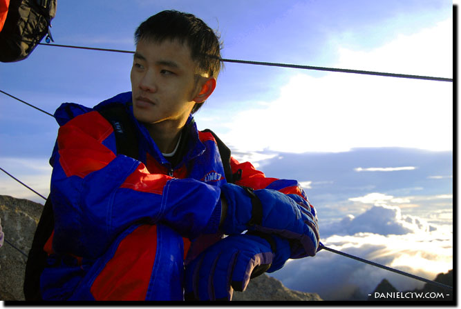 Daniel Chew on Mount Kinabalu