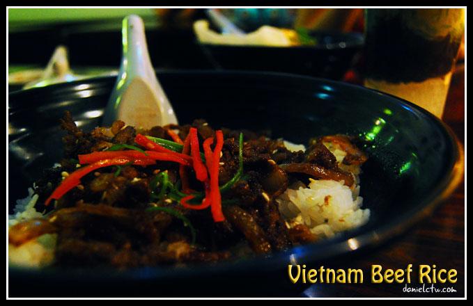 Vietnam Beef Rice