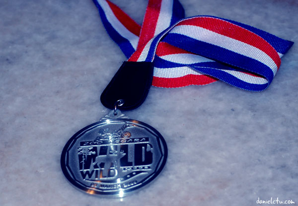 Wild Wild Run Finisher Medal