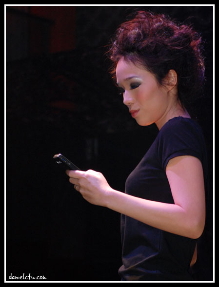 Pinky With Handphone