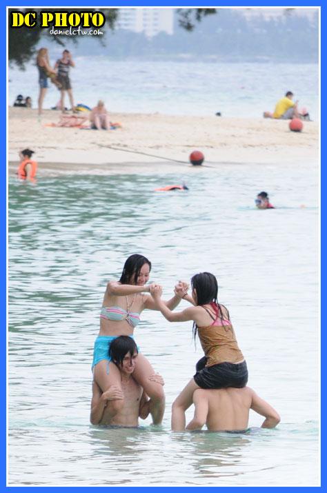 Fun Wrestling in Manukan