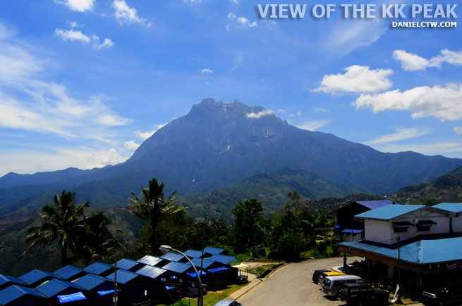 Kinabalu Mountain Peak From Afar