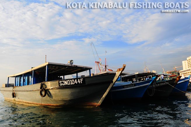 Kota Kinabalu Fishing Boats