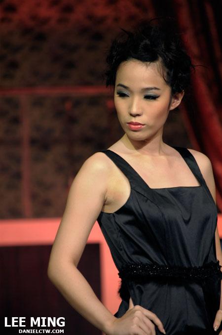Ming in Black Dress
