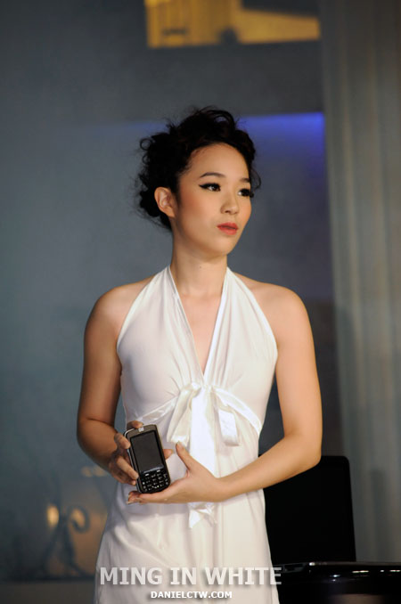 Ming in White