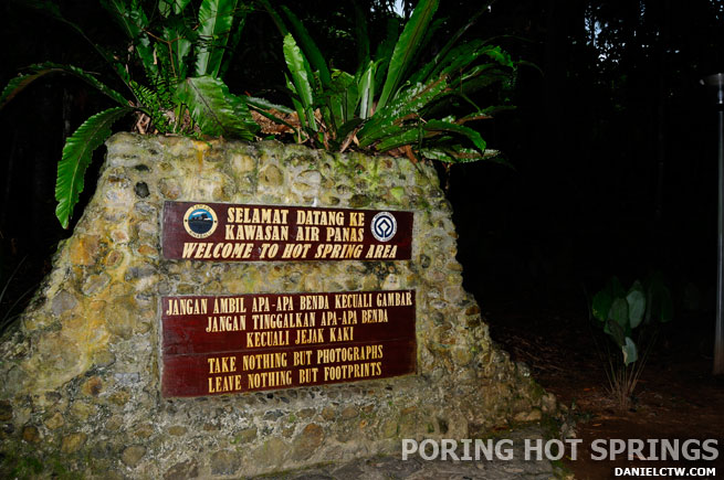Poring Hot Springs Entrance