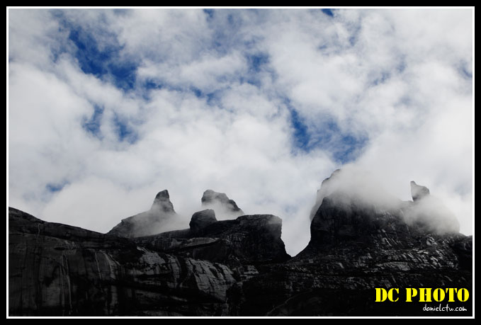 Rocks Of Mount Kinabalu