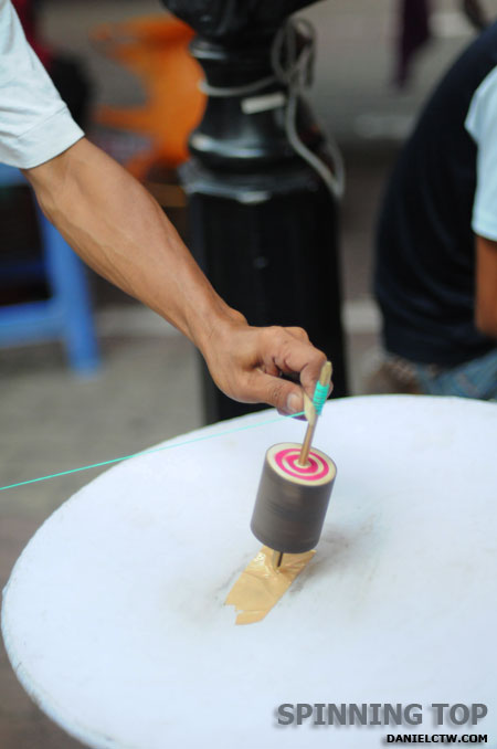 Spinning Top Gasing