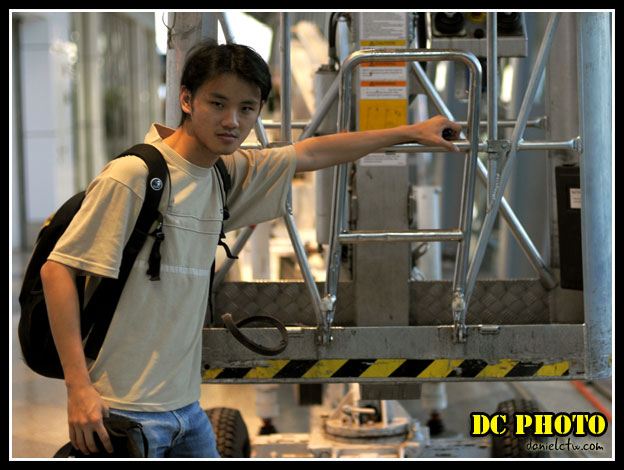 Daniel Pose in Airport Rails
