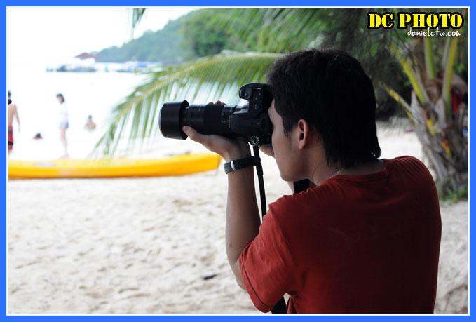 Zoom Lens On The Beach