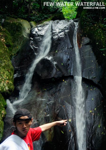DanielCtw Reached Poring Waterfall