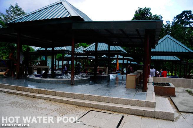 Hot Water Bathtub Poring Hot Springs