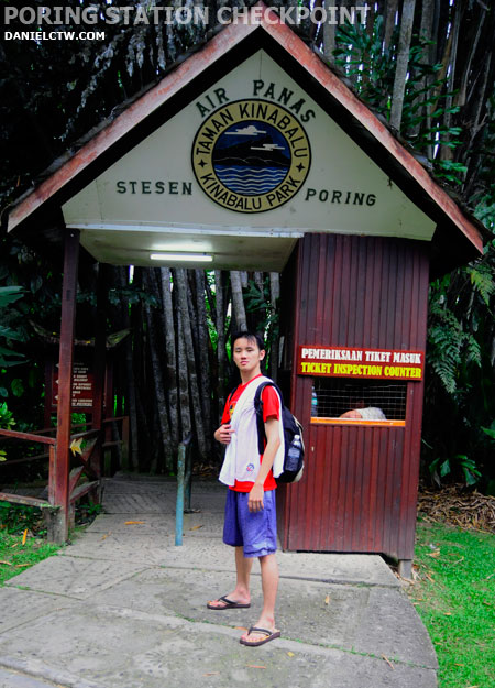 Poring Hot Springs EntranceStation