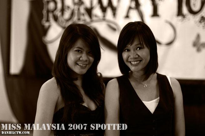 Runway Miss Malaysia 2007 Adelaine Chin