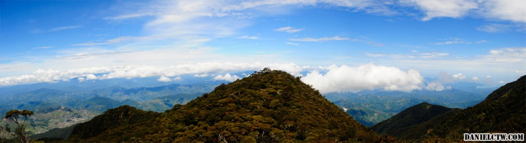 Panaroma of One of Mt Kinabalu