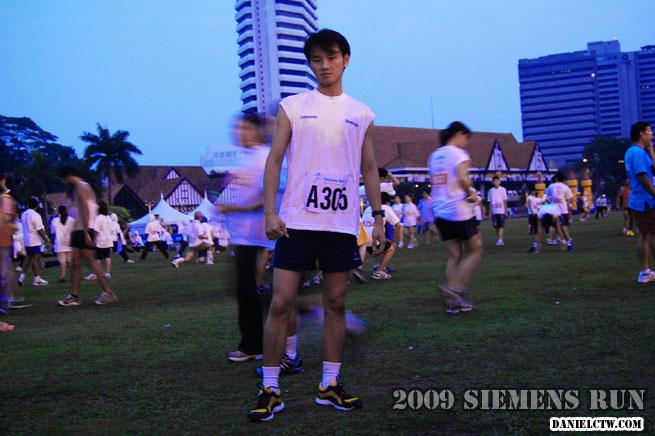 Getting Ready For The Siemen Run 7am