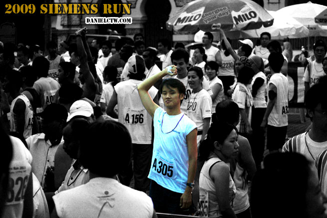 Starting Line Siemen Run 2009