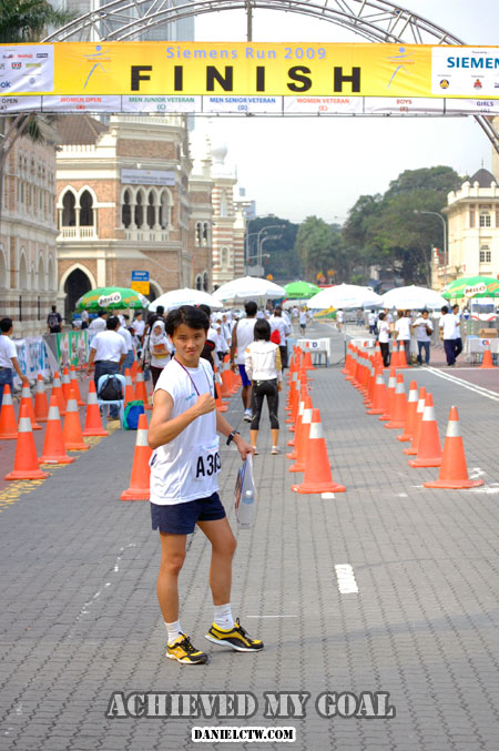 Siemen 2009 Run finish