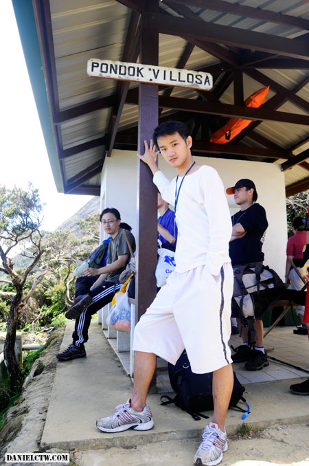 Daniel at Villosa Hut