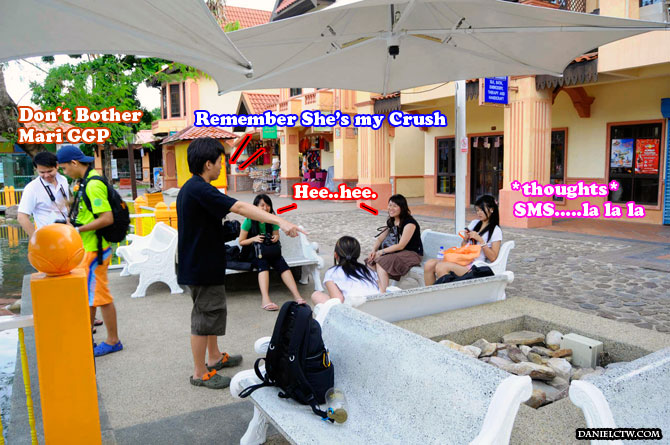 Busy Scene Act in Langkawi
